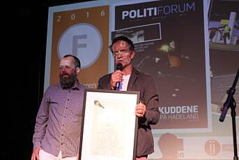 Ole Martin Mortvedt med fire nye år som redaktør i Politiforum
