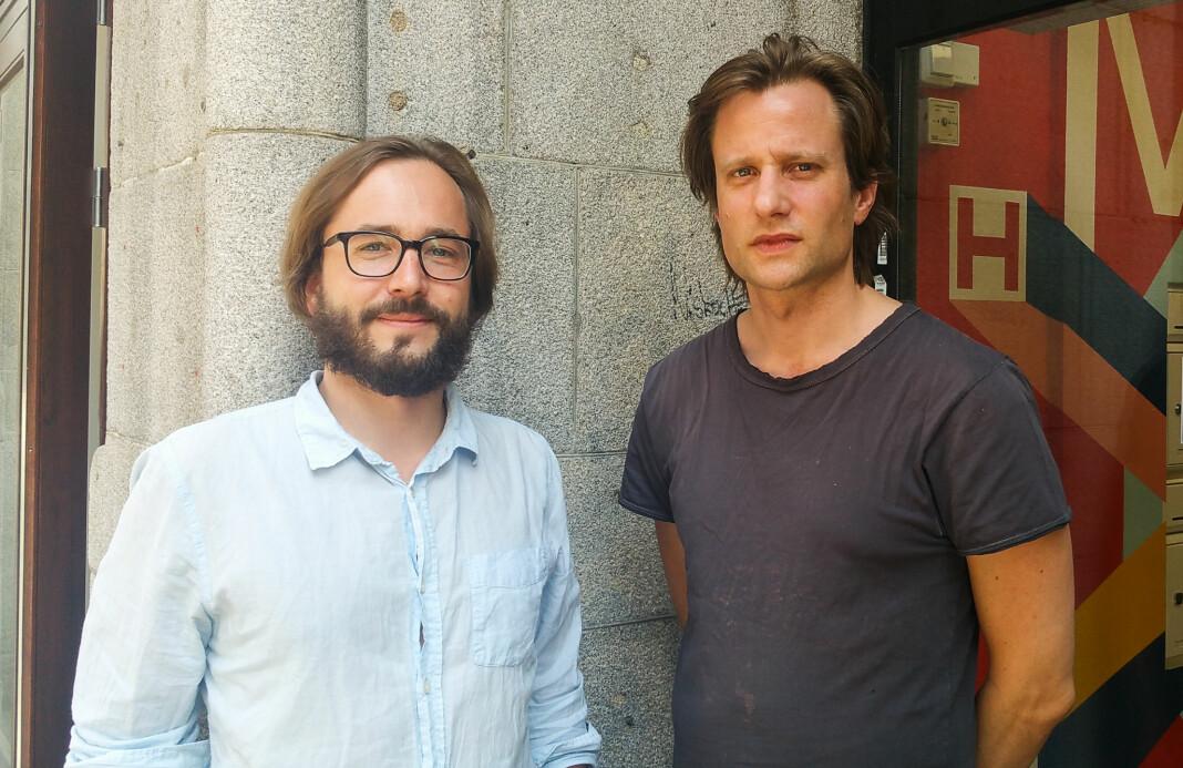 Ansvarlig redaktør Harald Klungtveit og journalist Pål Nordseth i Filter Nyheter.