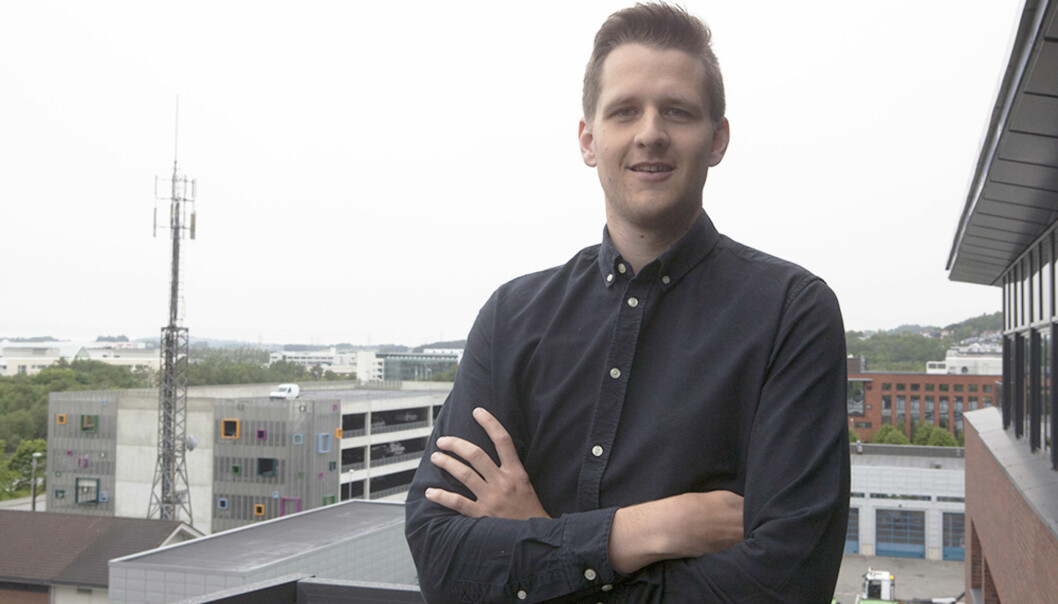 Øyvind Knoph Askeland er på plass i ny jobb i oljebyen Stavanger. Foto: Norsk olje og gass