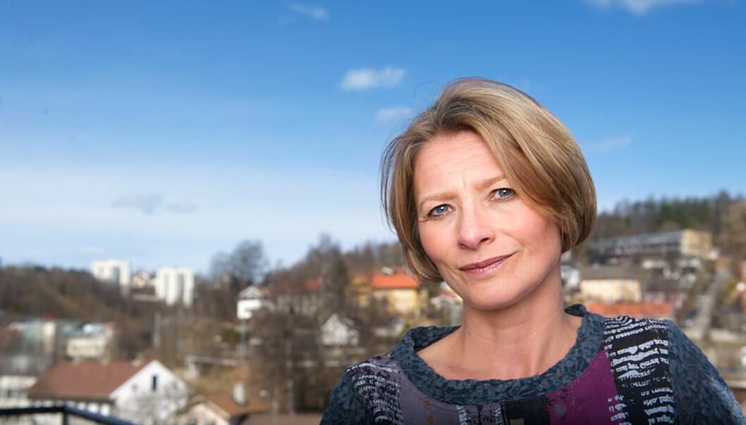Forbrukerombud Gry Nergård tar til orde for nye regler mot skjult markedsføring. Foto: CF-Wesenberg@kolonihaven.no