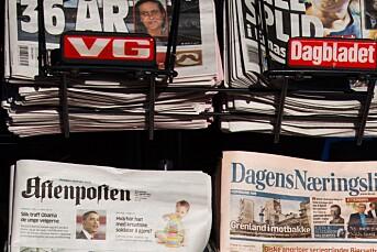 VG og Dagbladet til bunns på omdømme=liste
