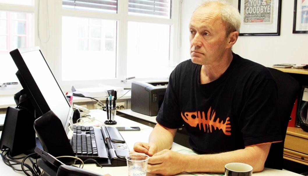 NJ-leder Thomas Spence er svært fornøyd med NRKs nye SoMe-avtale. Foto: Birgit Dannenberg