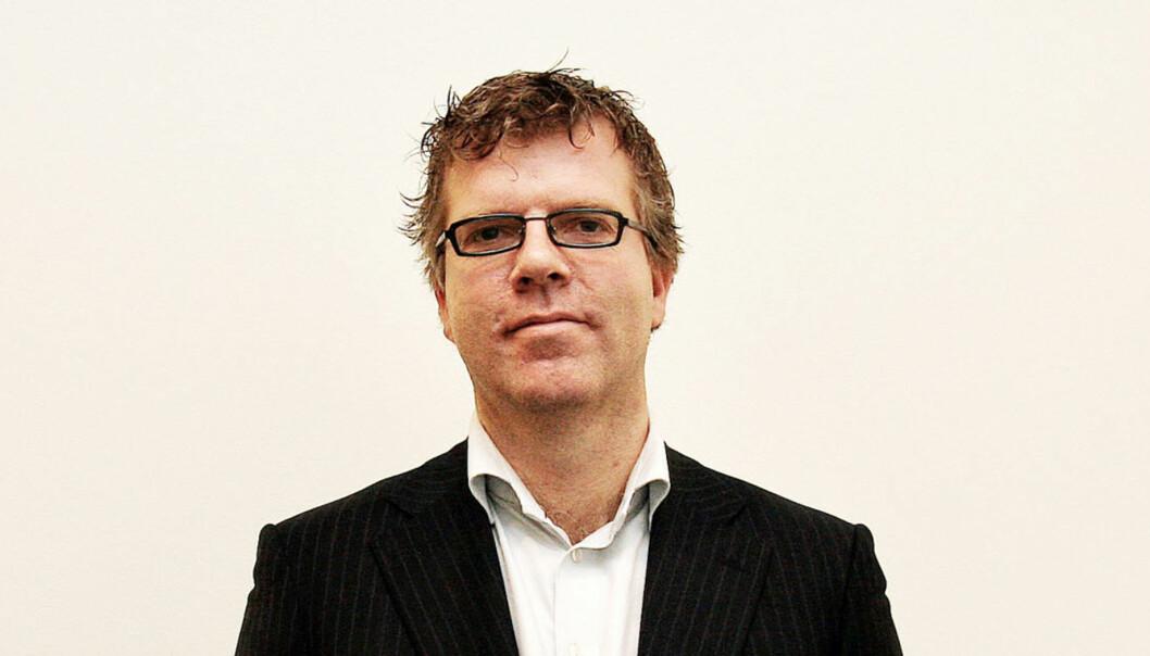 Jon Hustad i Dag og Tid mener NRK driver omvendt rasisme. Foto: BIrgit Dannenberg