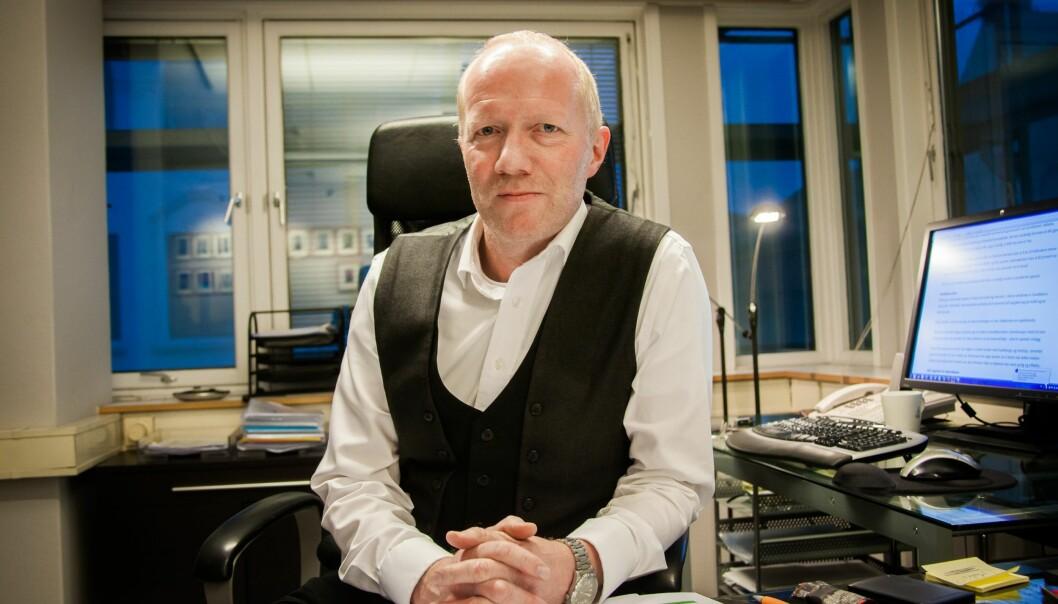 – Nettet er ikke noe rettstomt rom, sier Arne Jensen, generalsekretær i Norsk Redaktørforening. Foto: Kathrine Geard