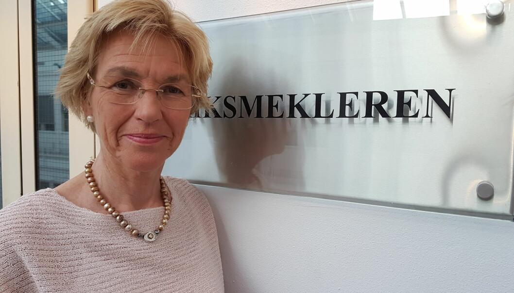 Optimist: Mekler Anne Cathrine Frøstrup. Foto: Bjørn Åge Mossin