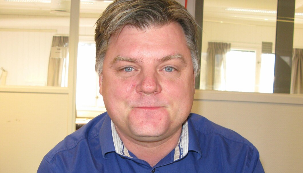 NRKJ-leder Richard Aune er klar for meklingsinnspurt. Fristen løper ut ved midnatt onsdag. Foto: Bjørn Åge Mossin