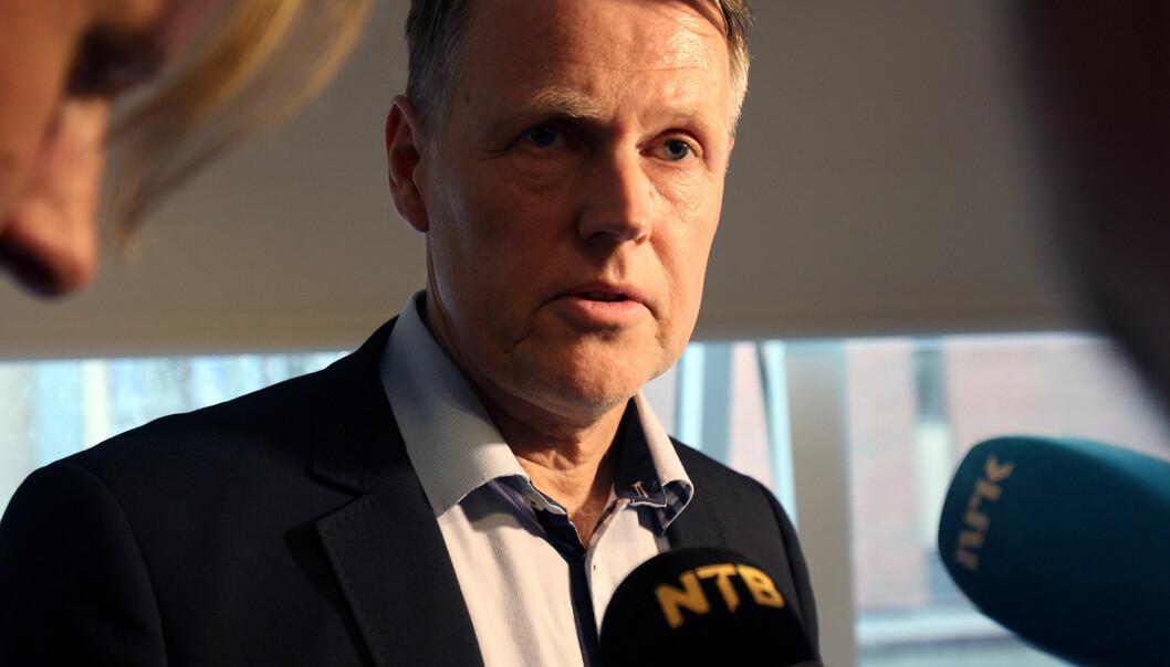 Kirurg Per Kristian Eide under behandlingen av en klage i Pressens Faglige Utvalg (PFU). Arkivfoto: Glenn Slydal Johansen