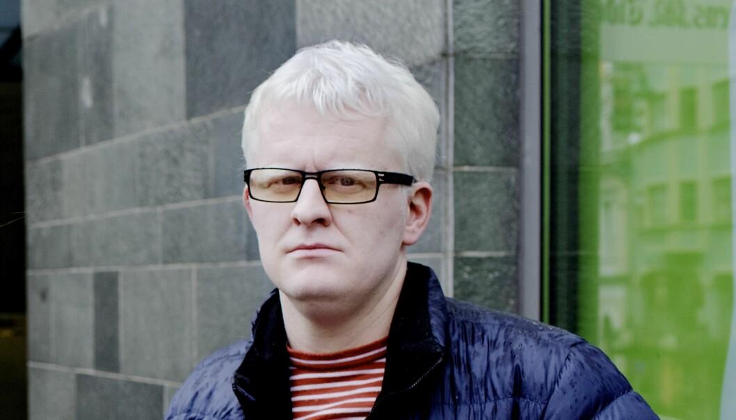 Dag Idar Tryggestad, leder av redaksjonsklubben i Bergens Tidende, hadde en tung dag på jobben torsdag. Foto: Paul S. Amundsen