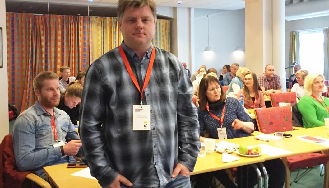 NRKJ-leder Richard Aune. Foto: Angelica Hagen