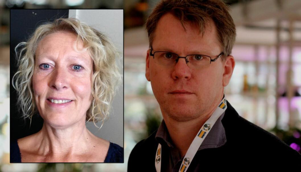 Advokat Elin Nykaas og Jens Egil Heftøy. Foto: privat/Martin Huseby Jensen