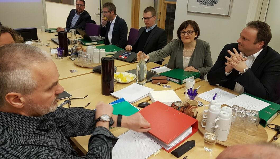 Lønnsforhandlingene startet tirsdag. Foto: Bjørn Åge Mossin.