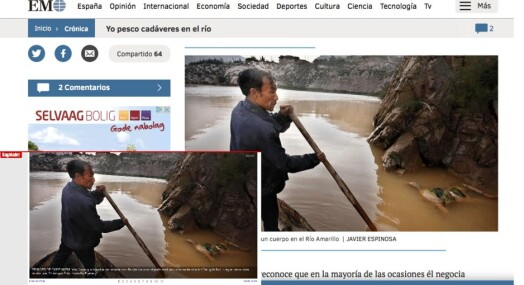 Spanias nest største avis stjal Dagbladets bilde