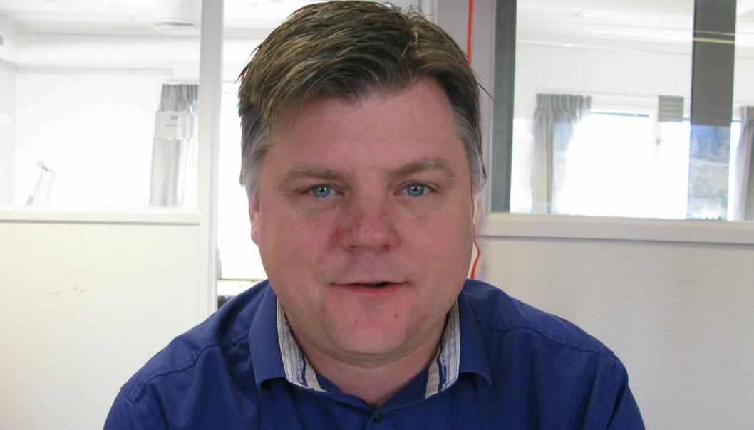 NRKJs leder Richard Aune. Foto: Bjørn Åge Mossin