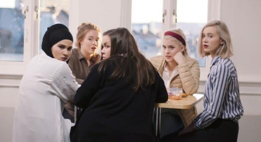 Vanvittig mediepress rundt NRK-suksessen «Skam»