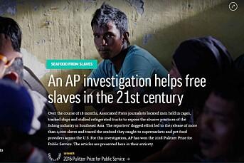 Krig og flyktninger preget Pulitzer-prisene