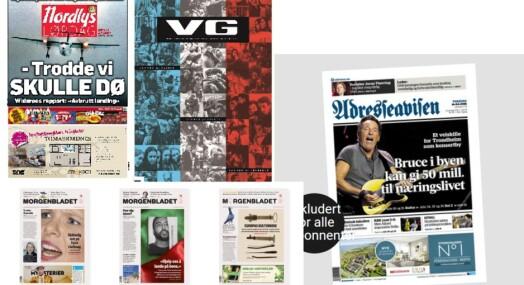 En av disse kan bli årets avis