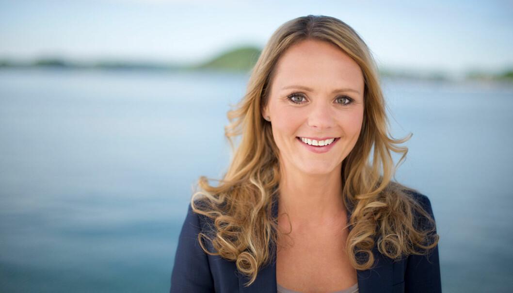 Kulturminister Linda Hofstad Helleland forserer arbeidet med å utrede kommersiell allmennkringkasting. Foto: cf-wesenberg@kolonihaven.no