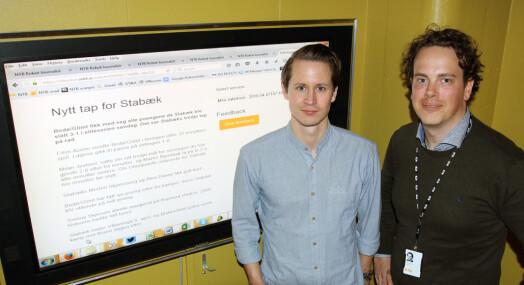 NTB dekker Eliteserien med robot=journalist