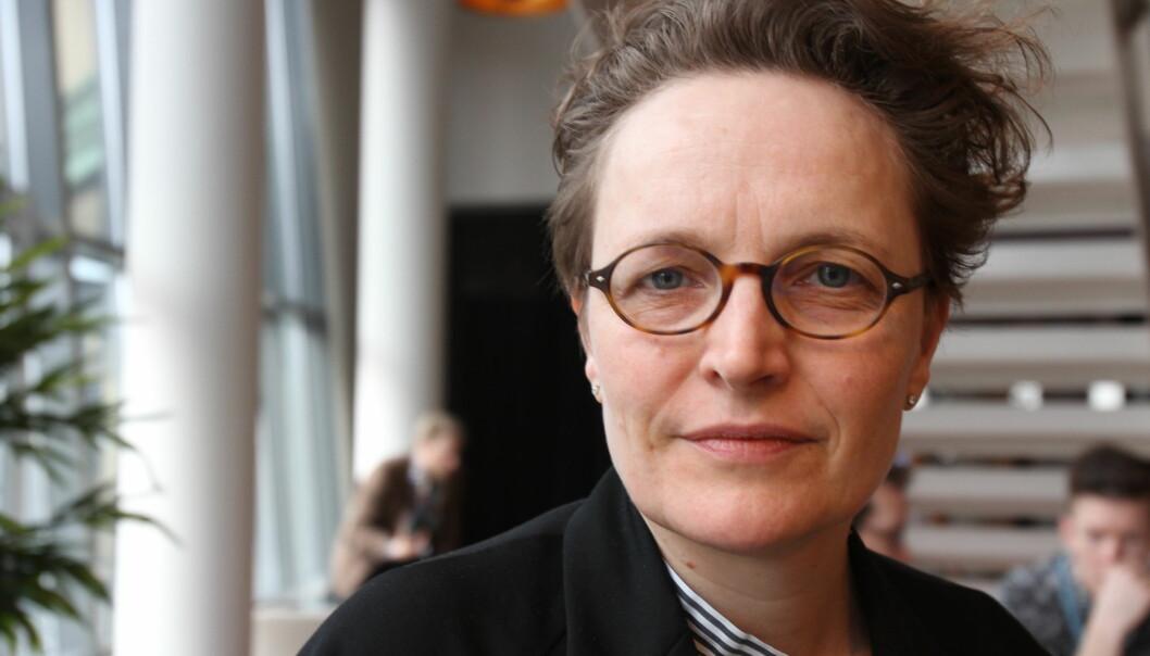 Featureredaktør Gry Egenes og de andre i redaksjonsledelsen har strammet inn kontrollen av journalistikken. Foto: Martin Huseby Jensen