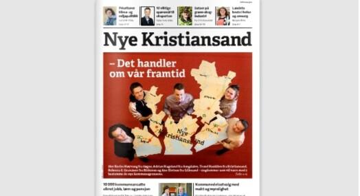 Hevder Nye Kristiansand er propaganda-avis