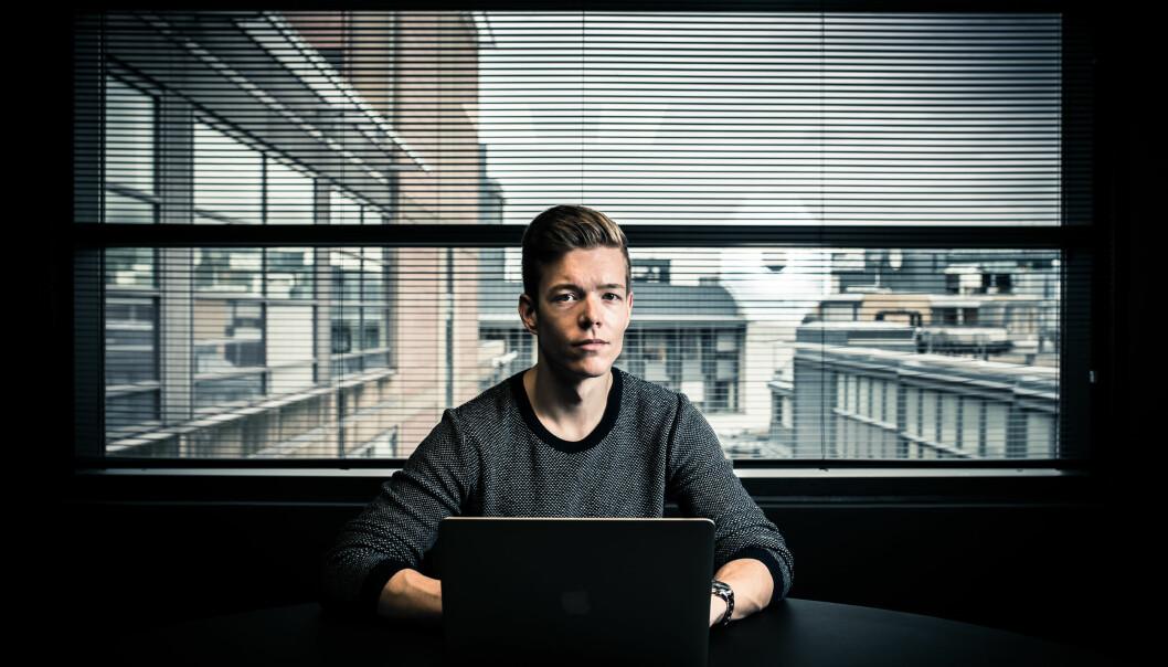 Einar Otto Stangvik er sikkerhetsanalytiker i VG. Foto: Privat