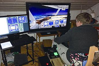 Nordlys løste flymysterium med dataspill