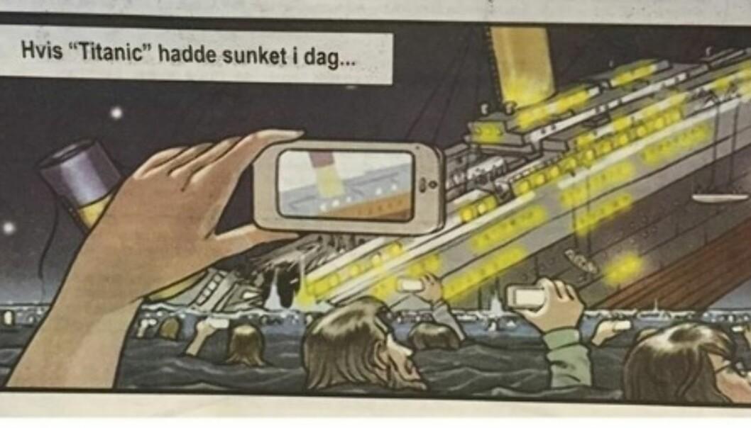 Denne tegningen ble publisert i Ságat forrige uke.