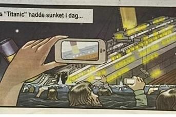 Avisen Ságats humortegning ligner plagiat