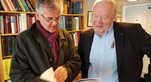 Nils E. Øy (70) konstitueres som generalsekretær i Presseforbundet
