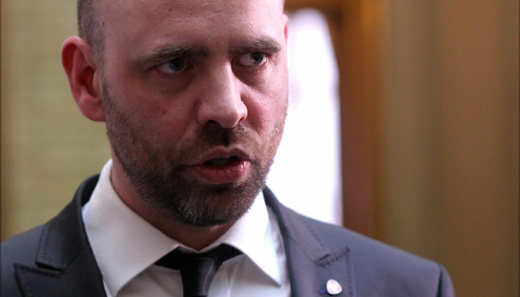 Arbeiderpartiets Arild Grande. Foto: Glenn Slydal Johansen