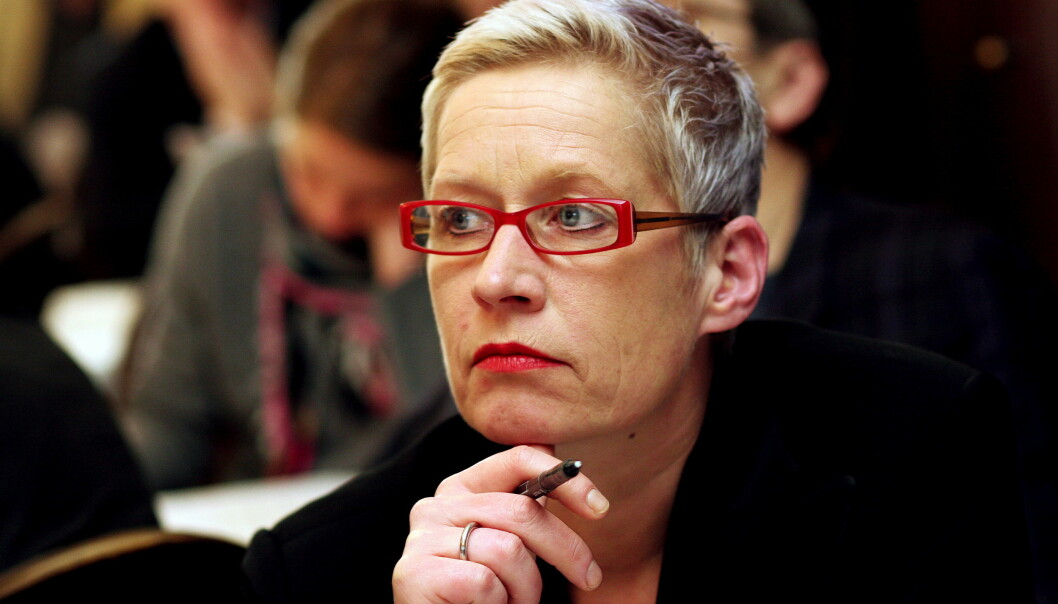 Anne Aasheim er død, 53 år gammel. Foto: Birgit Dannenberg