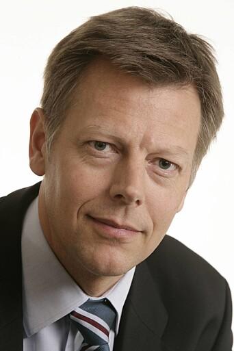 Direktør for juridisk avdeling i NRK, Olav A. Nyhus. Foto: NRK