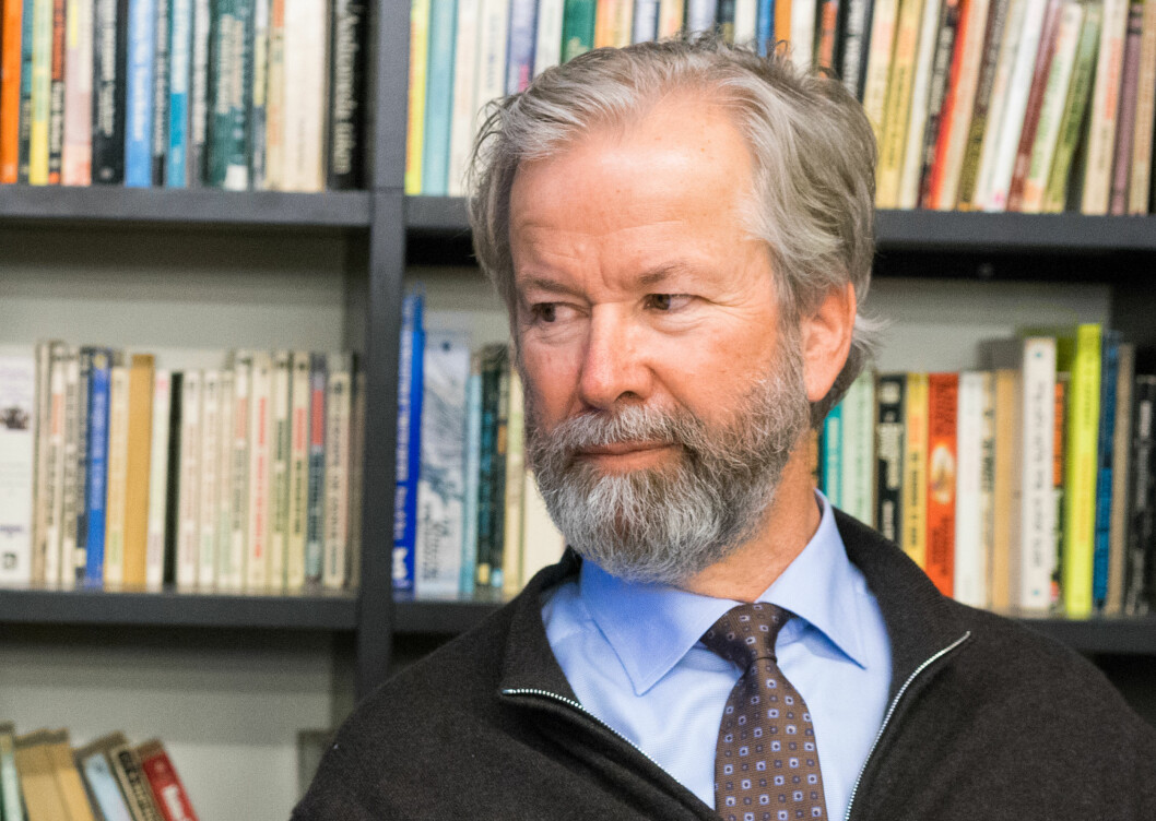 Ole Jacob Sunde, styreleder i Schibsted, Stiftelsen Tinius og nå også The Scott Trust. Foto: Helge Øgrim