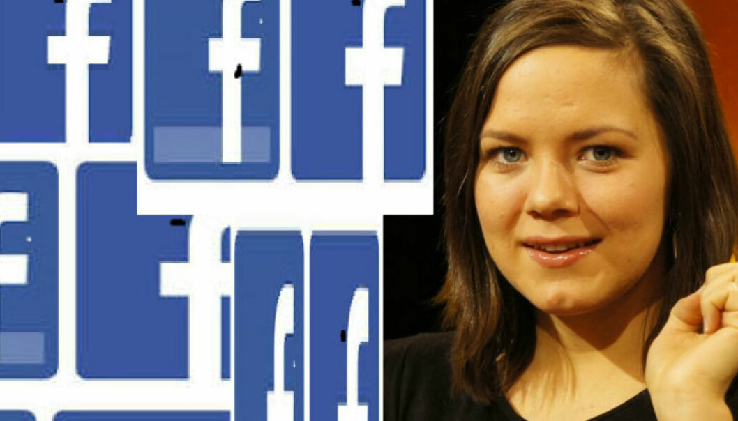 Ida Aalen sier ABC Nyheter misforsto Facebook-endring.