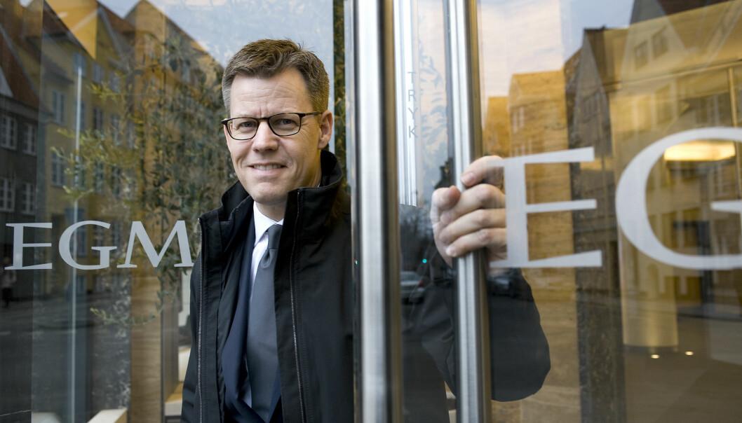 Konserndirektør i Egmont, Steffen Kragh, har grunn til å smile over de økonomiske resultatene i 2015. Foto: Egmont