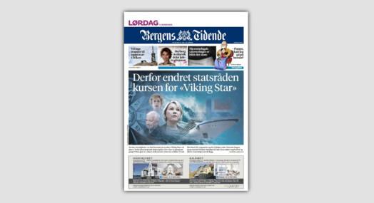 Bergens Tidende-journalister vant journalist=pris for cruise-saken