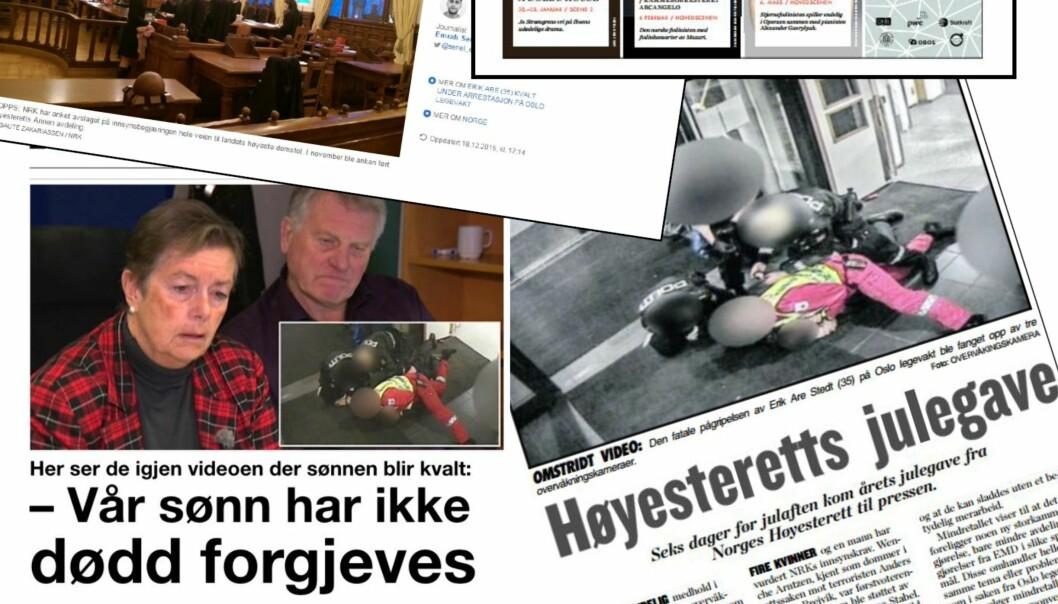 Faksimile fra Skup-rapporten «Døden på Oslo legevakt».