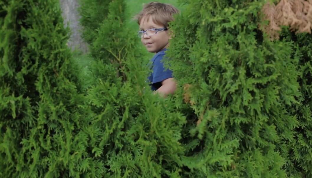 Med historien om åtte år gamle kreftsyke Alkeo vant Kyrre Lien klassen nyhetsvideo. Foto: Kyrre Lien.