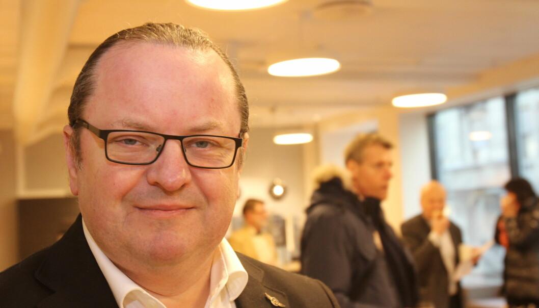 Lørdag som avisdag kommer til å gå tapt, derfor mener Arne H. Krumsvik det er fornuftig å flytte helgeavisen til fredag. Foto: Martin Huseby Jensen