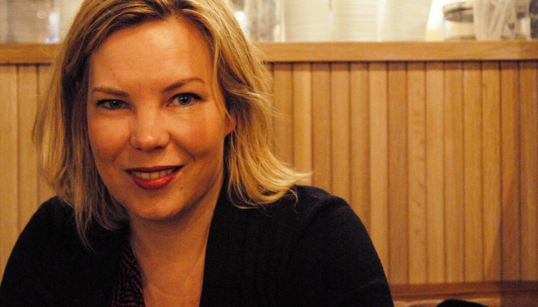 Marta Breen tar for seg medienes rumpefiksering i sin nye bok. Foto: Martin Huseby Jensen