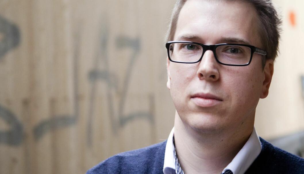 Administrerende direktør i Dagsavisen  Eirik Hoff Lysholm. Foto:Kathrine Geard