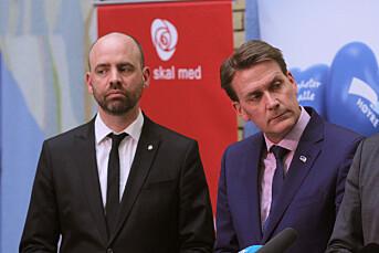 Høyre og Arbeiderpartiet kranglet om TV-avtale