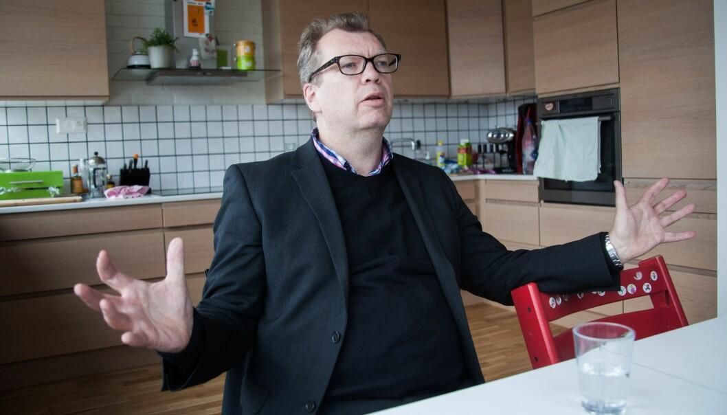 Forfatter Frode Grytten, som tidligere jobbet i Bergens Tidende som reportasjejournalist, liker ikke utviklingen i bergensavisene. Arkivfoto: Kathrine Geard