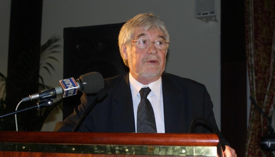 Ivan Kristoffersen, her på Skup-konferansen i 2001. Foto: Birgit Dannenberg