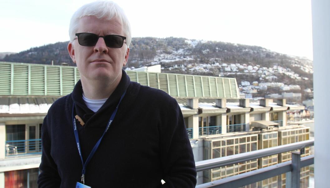 Leder Dag Idar Tryggestad i Bergens Tidendes redaksjonsklubb. Foto: Glenn Slydal Johansen