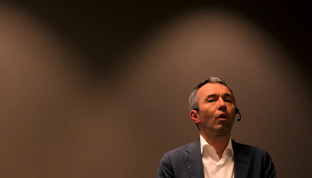André Støylen i Sparebankstiftelsen DNB. Foto: Martin Huseby Jensen