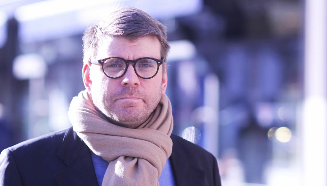 Sjefredaktør Sigvald Sveinbjørnsson sier at han ikke vet hva et fritak fra arbeidsgiveravgiften vil bety for BA, men håper det vil veie opp for eventuelt bortfall av støtte. Foto: Martin Huseby Jensen