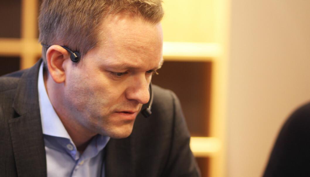 Knut Ivar Solnes. Foto: Martin Huseby Jensen