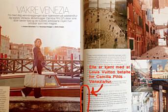 Hva gjorde du i Venezia, Camilla Pihl?