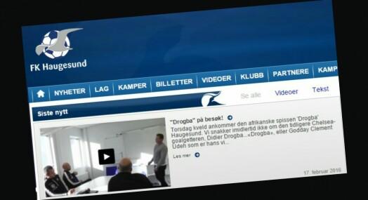 I Haugesund er fotballaget blitt medieeier og slipper nyheter i egne kanaler først